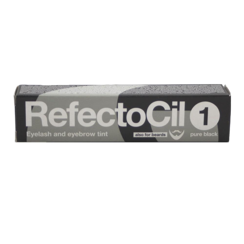 RefectoCil Augenbrauen- & Wimpernfarbe Nr. 1 Tiefschwarz 15ml