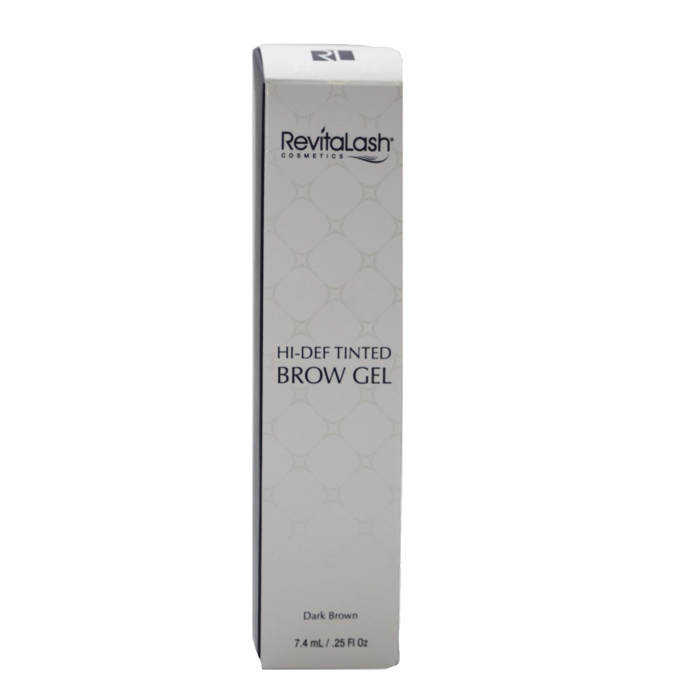 RevitaLash Advanced Hi-Def Tinted Brow Gel Dark Brown 7.4ml